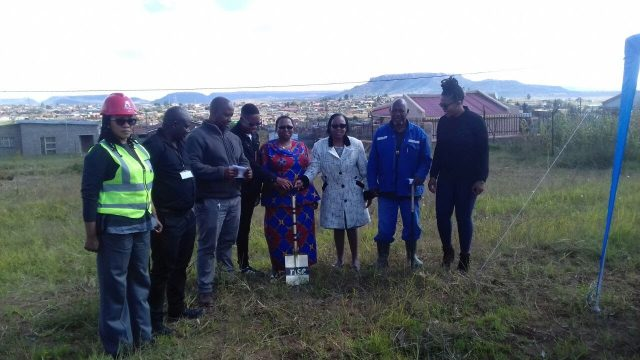 rise breaking ground in Lesotho